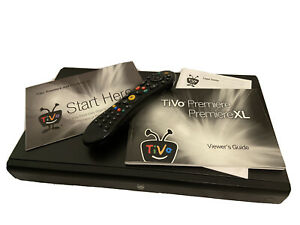 TiVo Premiere XL TCD746500 DVR with Remote and manual *Tested, Works**