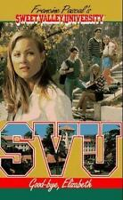 Good-Bye, Elizabeth (Sweet Valley University(R))-ExLibrary