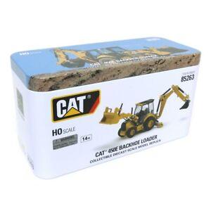 1/87 Caterpillar CAT 450E Backhoe Loader High Line Series Diecast Masters 85263