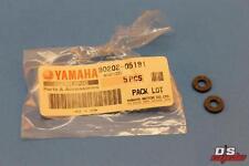 NOS YAMAHA PW50 TW200 XTZ750 XVS1100 YFZ350 WASHER QTY 2 PART# 90202-05191-00