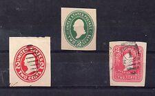 Estados Unidos Valores de enteros postales (CJ-670)