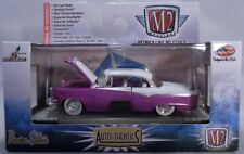 PURPLE 1955 DODGE ROYAL LANCER M2 MACHINES 1:64 SCALE DIECAST METAL MODEL CAR