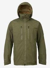 New $450 Men's Burton ak 2L GORE‑TEX Swash Olive Ski Jacket Medium