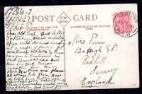 New South Wales QV Mosman Postcard 1d Newtown CDS WS18306