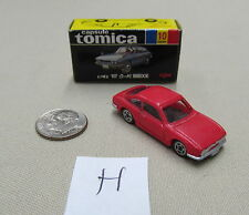 Tomica Capsule Pocket Cars #10 Isuzu 1800 XE Coupe Red MIB US Seller