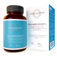 Living Wonder Collagen Boost+ Hair-Skin-Nails Exp 04/28/2022