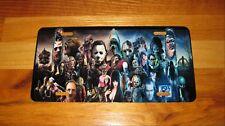 HALLOWEEN HORROR Movie Characters Custom License Plate-Jason-Leatherface--Chucky