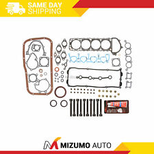 Full Gasket Set Head Bolts Fit 95-98 Nissan 240Sx 2.4L Ka24De