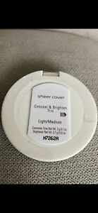 Sheer Cover Conceal & Brighten Trio Light/Medium 1X3.7g. Brand New & Sealed.