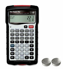 Calculated Ind. Pipe Trades Pro Calculator 4095 with Case & Spare LR44 Batteries