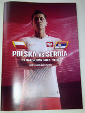 Programme for collectors Poland - Serbia & Poland - Finland 2016 Poznan Wroclaw