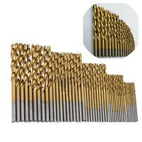 50Pcs/Lot Cobalt High Speed Steel HSS Drill Bit Set for Stainless Steel Metal