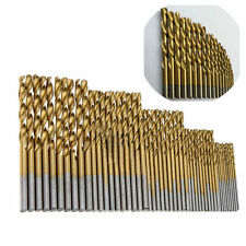 TOP 50x Cobalt High Speed Steel HSS Drill Bit Tool Kit for Stainless Steel Metal