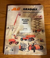 Jlg Gradall Service And Maintenance Models 400s Amp 460sj Boom Lift 3120788 2002