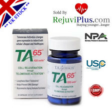 TA 65 Anti Aging Astragalus Stop Cellular Aging via Telomerase Clinical proof !