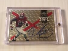 2016 Leaf Draft State Pride Superfractor Auto on card DERRICK HENRY RC 1/1