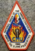 1986 NOAC Pocket Patch - Kindle The Flame From Within - BSA/OA