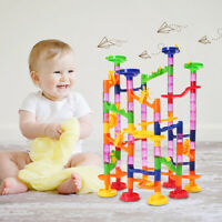 105Pcs Children's Kids Baby Track Ball Building Blocks Marble Run DIY Gift Toys