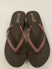 Reef flip flops womens 9
