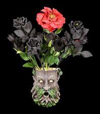 relief Mural - Greenman Pot de fleurs - FANTASIE esprit des arbres déco