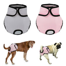 2X Dog Diaper Female Girl Sanitary Cycle Pants Reusable Washable Underwear XS-XL