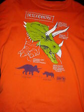 Very Cool Triceratops T-Shirt, Size Kid's Large, Great Shape! Dinosaur