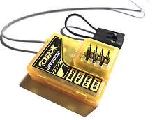 Receptor De Tierra Naranja V2 2.4Ghz DSM2 Spektrum 3 canales funciona con DX3, DX2