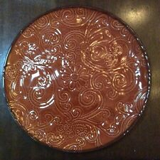 Tabletops Gallery Laguna 11� Dinner or Serving Plates inches Hand Painted