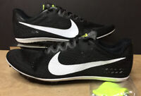 Nike Zoom Victory 3 Track Running Shoes Black White 835997-017 Size 11.5