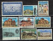 Greece Famous Building Architecture set 1960s