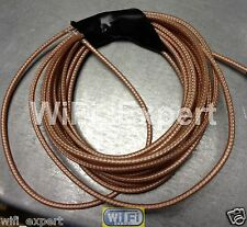 3M (10 feet) RF Coaxial cable 50ohm MIL-C-17 RG178 single shielded Ships from US