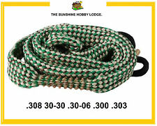 Bore Snake Rifle Boresnake Barrel Cleaner For .308 30-30 .30-06 .300 .303 Cal