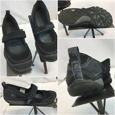 Merrell Sport Sandals Sz 7 Black Leather Strap EUC YGI F8