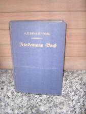 Friedemann Bach, un roman de A. E. a brisé Oiseau