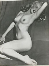 "Vintage Original Black&White Nude Female Protraits Lot Of 2- 8""x10"""