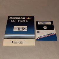 UNTESTED Zork I Infocom Commodore 64 128 C64 C128 Disk And Folder
