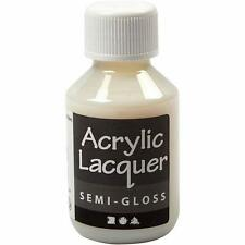 Semi Glossy Water Based Acrylic Glue Varnish For Hanging Crafts Painting Tool