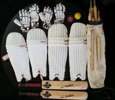 2 Cricket Sets one Mens one Youth Pads, Gloves Bats & Bag