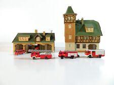 Vollmer Spur N 21072-20990 Feuerwehrhaus mit Fahrzeughalle-Wiking Fahrzeuge