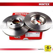 2X MINTEX FRONT BRAKE DISCS MDC1129 MINI MINI (R50, R53) (R52) COOPER (S) ONE D