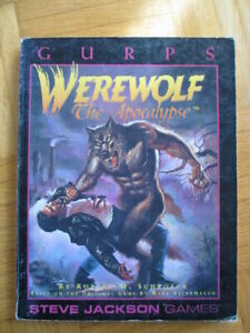 Gurps – Werewolf The Apocalypse - Englisch - Steve Jackson Games roleplaying