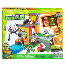Mega Bloks Teenage Mutant Ninja Turtles Half-Shell Heroes Lair Playset