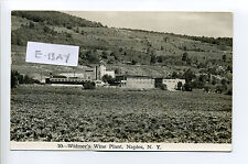 Naples Ny (Ontario Co) 1967 Rppc real photo Widmer's Wine Plant