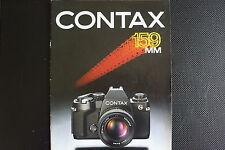 CONTAX 159  BROCHURE