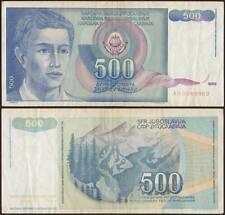 YUGOSLAVIA/JUGOSLAVIA 500 DINARA 1/3/1990