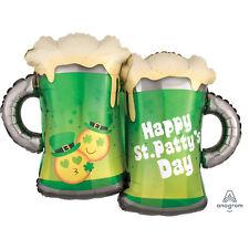BEER GLASSES & Emoji Emoticon S. Patrizio Elio Palloncino Festa Decorazione