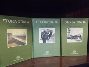STORIA D'ITALIA EINAUDI (ENCICLOPEDIA DI 11 VOLUMI VEDI  FOTO)