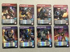 Transformers Tcg Siege I: 8 Uncommon Character Card Lot