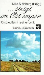 ... steigt im Ost empor: Ostpreußen in seiner Lyrik   Buch   Zustand sehr gut