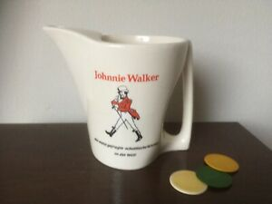 Pichet publicitaire JOHNNIE WALKER Blanc